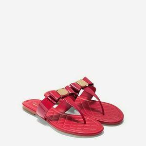 Cole Haan Tali Bow Flat Sandal Size 8.5
